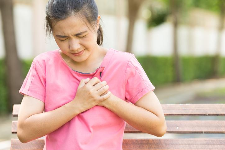 Pointe au coeur et problème de respiration quelle solution